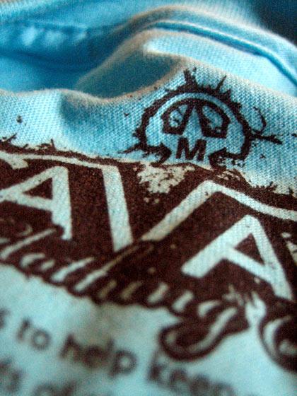 Screen printed t-shirt tag 1
