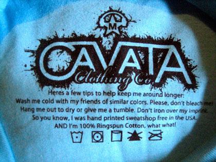 Screen printed t-shirt tag 4
