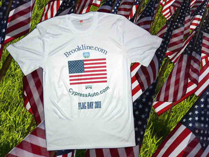 The full t-shirt, in all its patriotic glory.