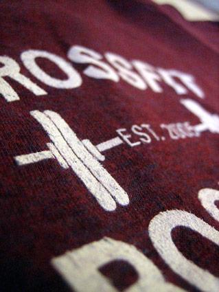 CrossFit Boston screen printing zoom