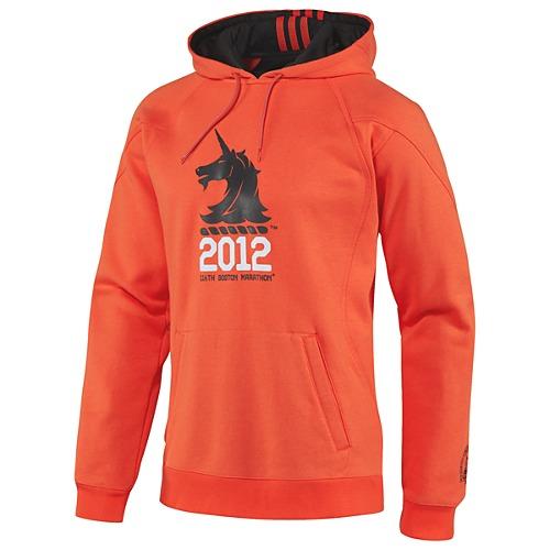 boston marathon 2012 screen printed hoody