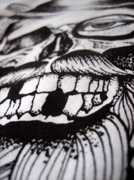 screen printed teeth