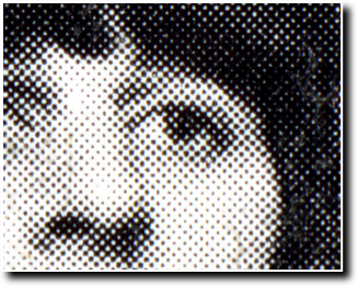 example of printed halftone