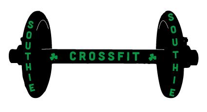 Crossfit Southie summer racerback tank screen print concept final