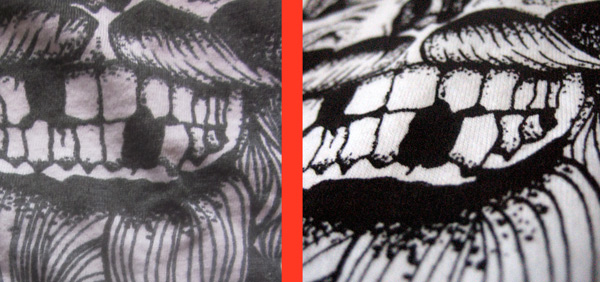 DTG versus screen printing on t-shirts 3