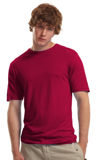 3773bef6d Jerico's ringspun tee is made out of 70% bamboo and 30% organic cotton.