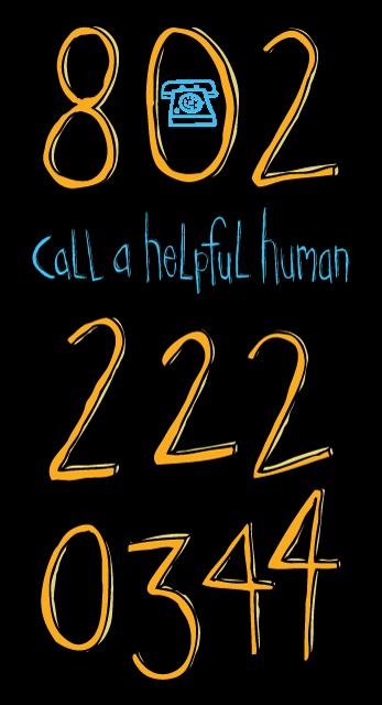 Call a helpful human for custom screen printing