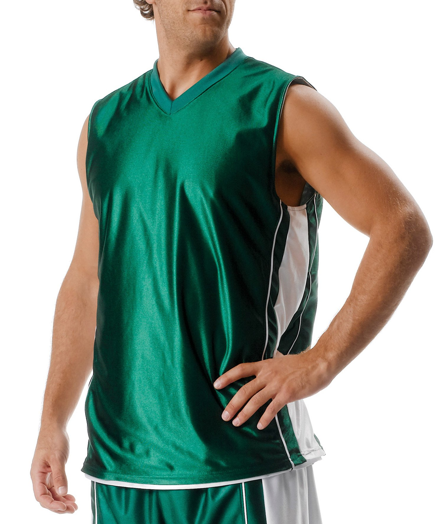 dbe6ba4870f A4 Youth Reversible Dazzle Muscle Jersey - Evan Webster INK
