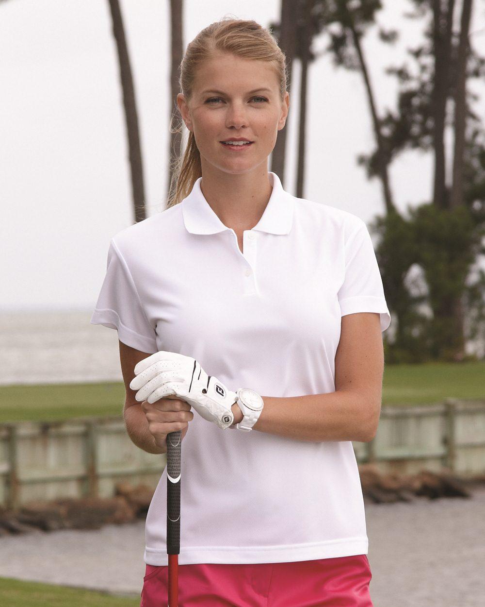 Adidas Golf Ladies ClimaLite Pique Polo A122