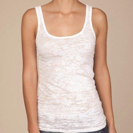 Alternative Ladies' 3.5 oz. Burnout Tank AA2641 Female White