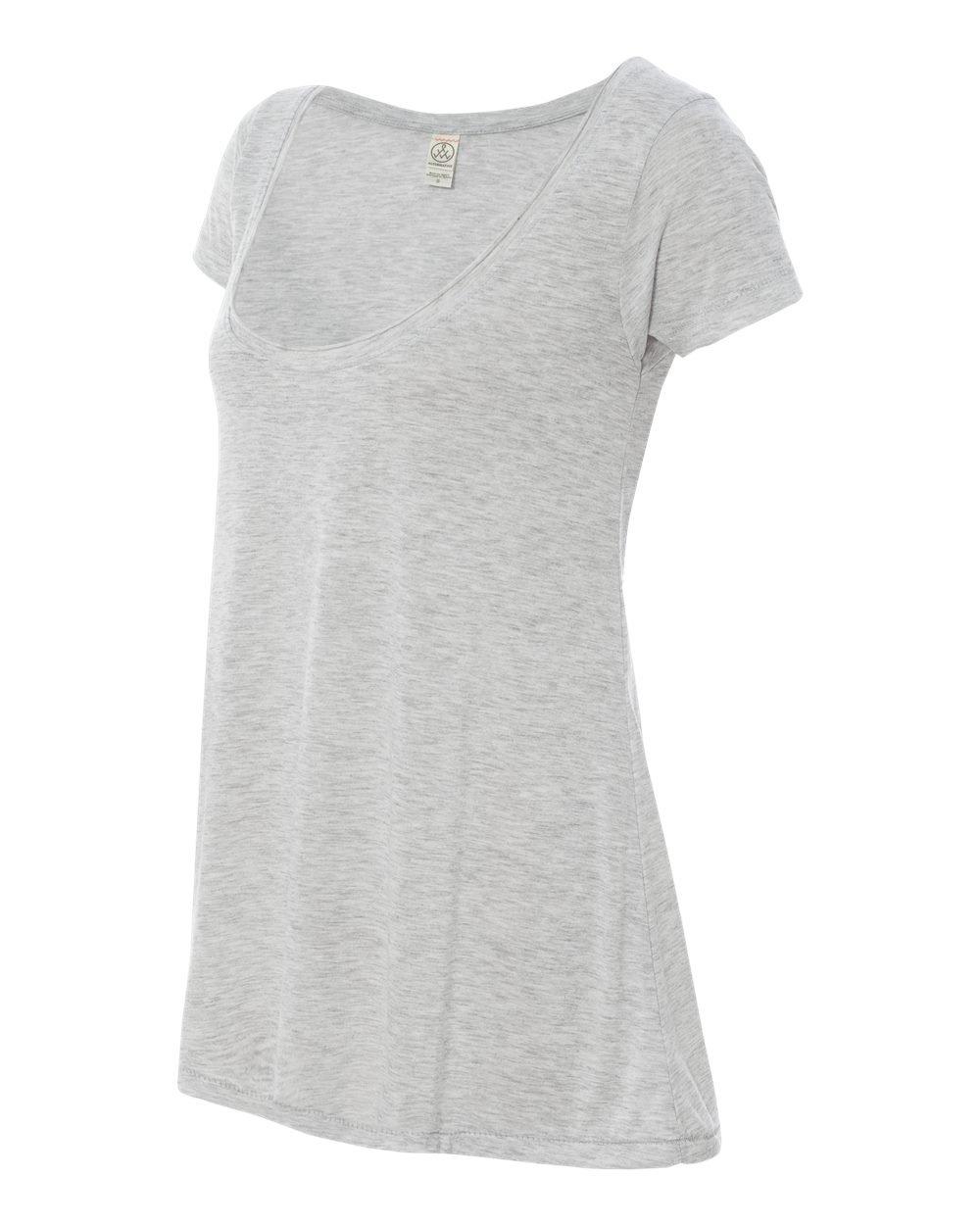 f10fdc65 Alternative Ladies' Short-Sleeve Drape Top 02668B2 - Evan Webster INK