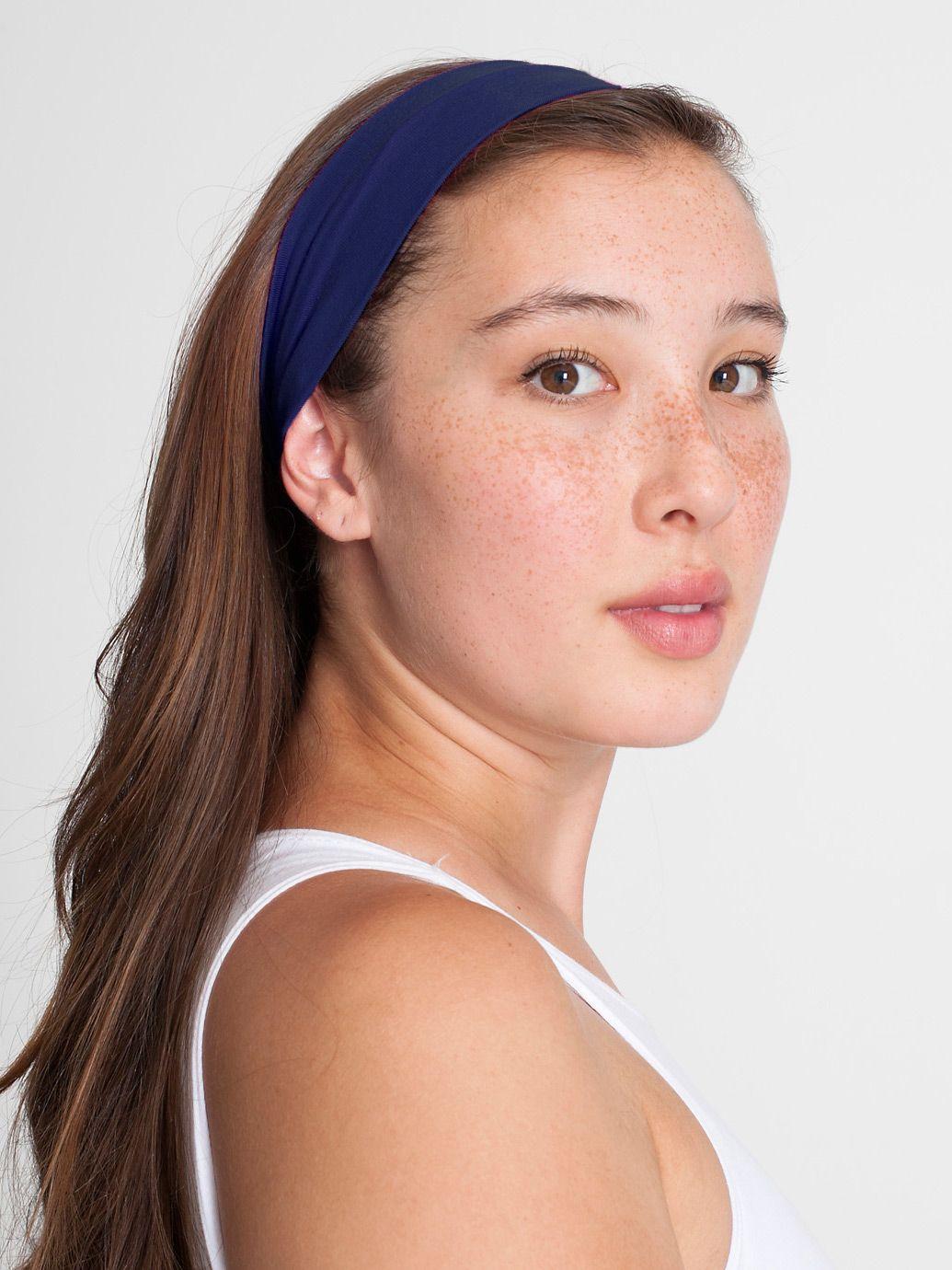 American Apparel Cotton Spandex Jersey Headband - Evan Webster INK ba6cf8bbe67