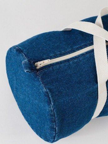 American Apparel Denim Duffle Bag Evan Webster Ink