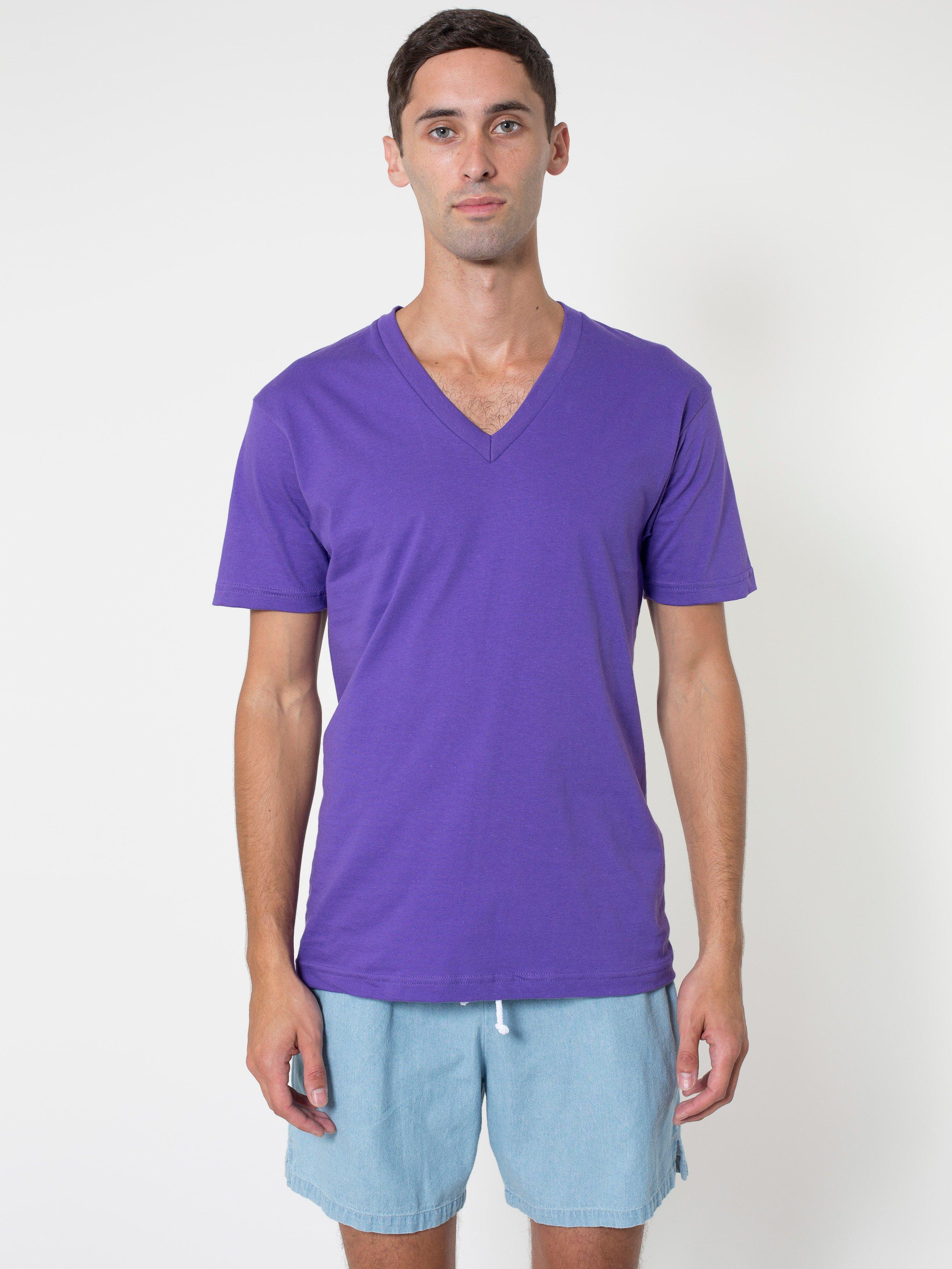 246c283f1d American Apparel Fine Jersey Short Sleeve V-neck - Evan Webster INK