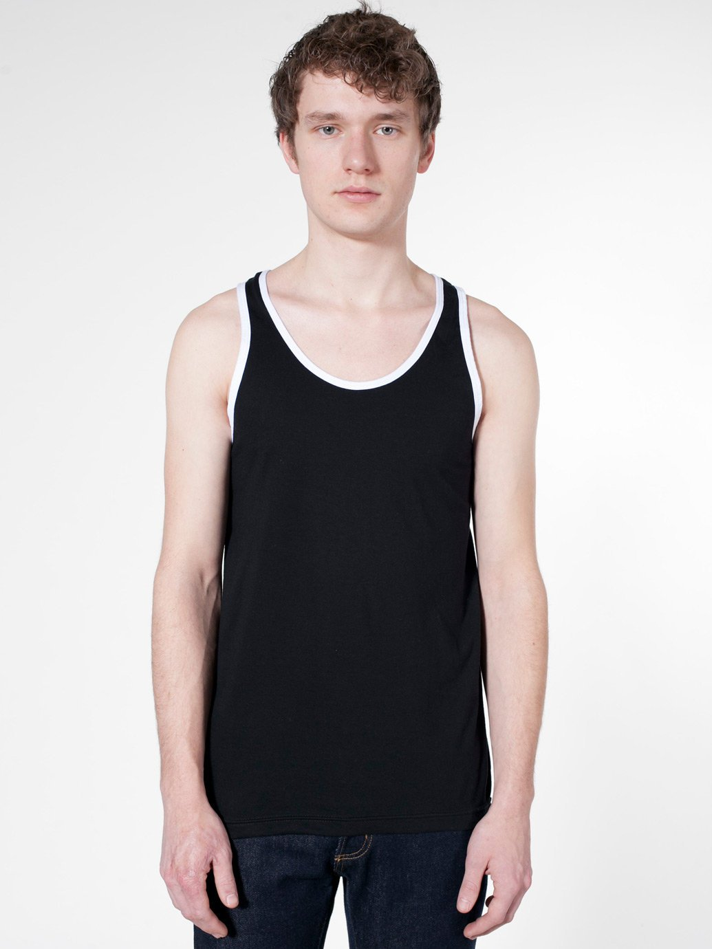 5710db264a30fd American Apparel Fine Jersey Tank - Evan Webster INK
