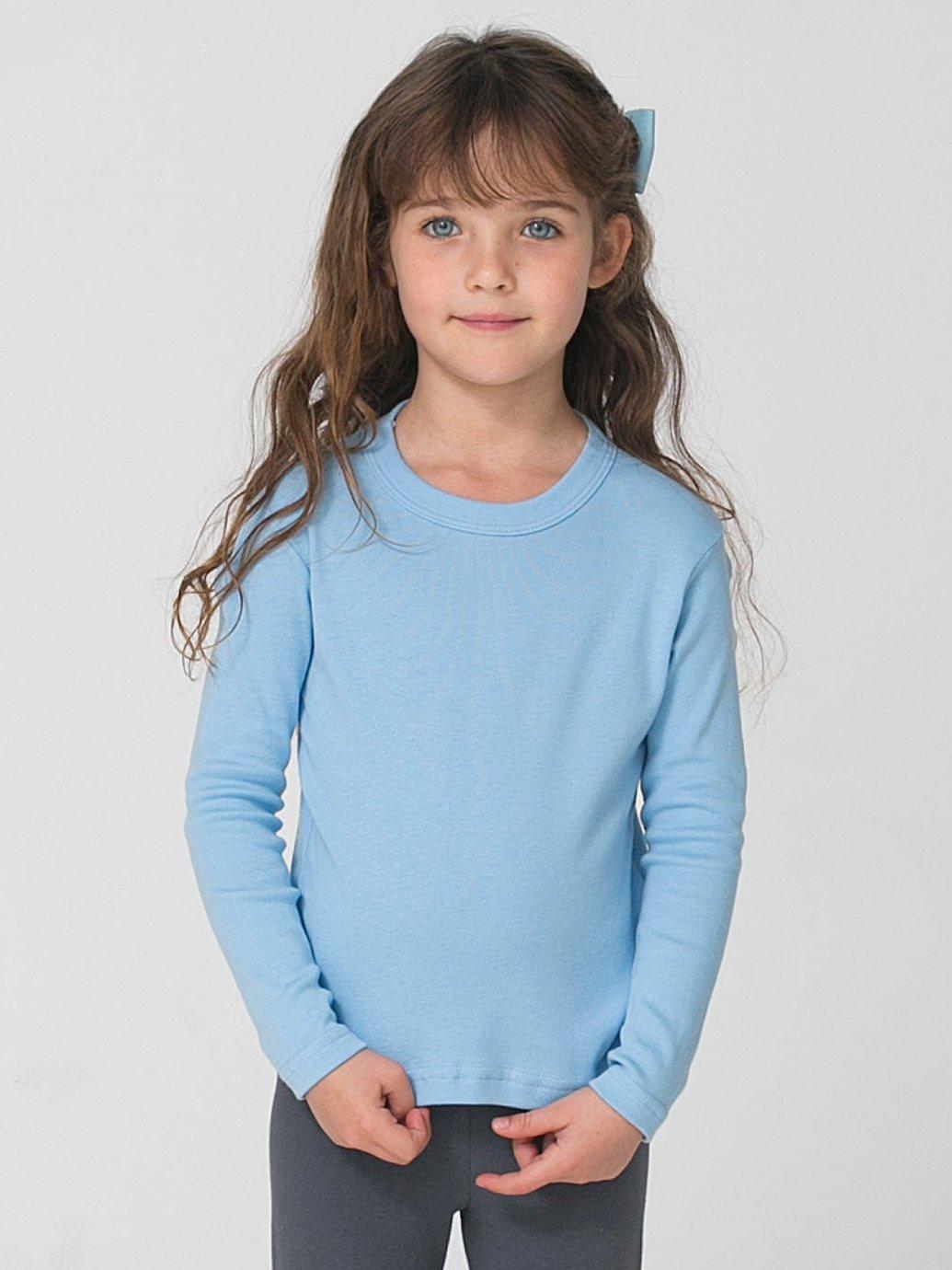 fc2f4c73 American Apparel Kids Baby Rib Long Sleeve T-Shirt - Evan Webster INK