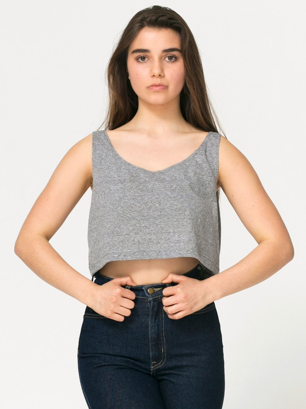 c00c1873517 American Apparel Loose Crop Tank - Evan Webster INK