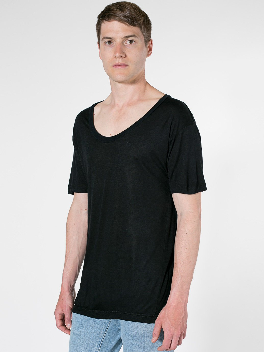 American apparel oversized viscose t shirt evan webster ink for American apparel custom t shirts