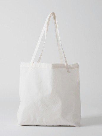 American Arel Poly Cotton Tote Bag White