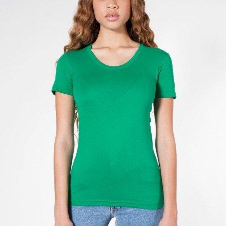 8f8b59c9 American Apparel Sheer Jersey Short Sleeve Women's Summer T Female Green