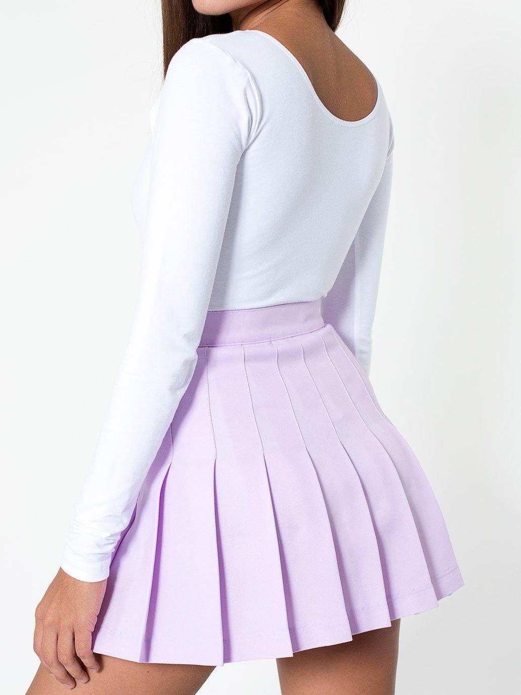 American Apparel Tennis Skirt Evan Webster Ink