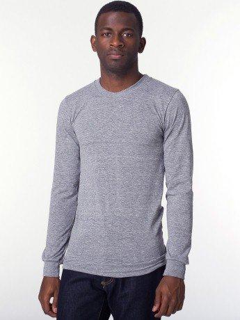 1ecb0f3725 American Apparel Tri-Blend Long Sleeve Shirt - Evan Webster INK