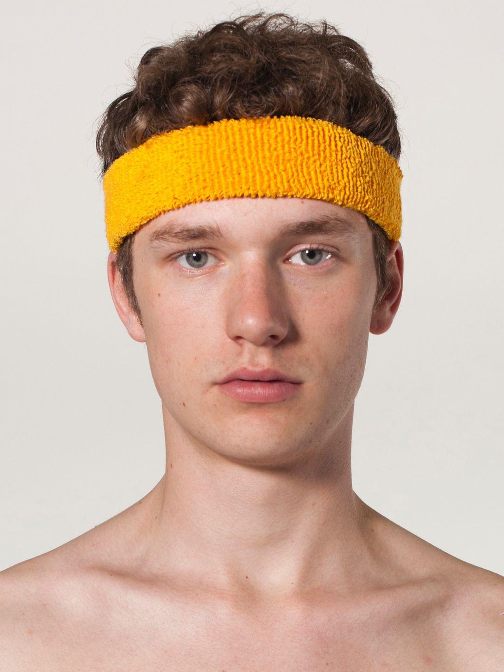 american apparel flex terry headband evan webster ink