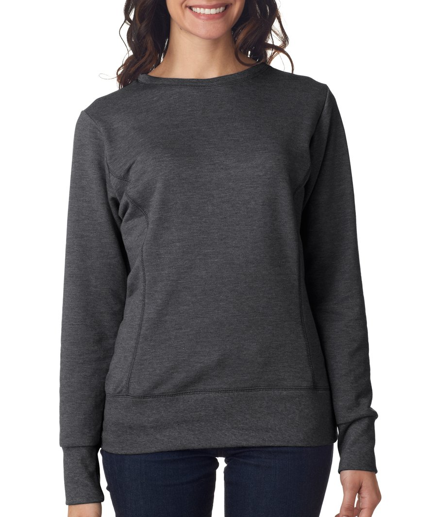 Anvil Womens Mid-Scoop French Terry Sweatshirt
