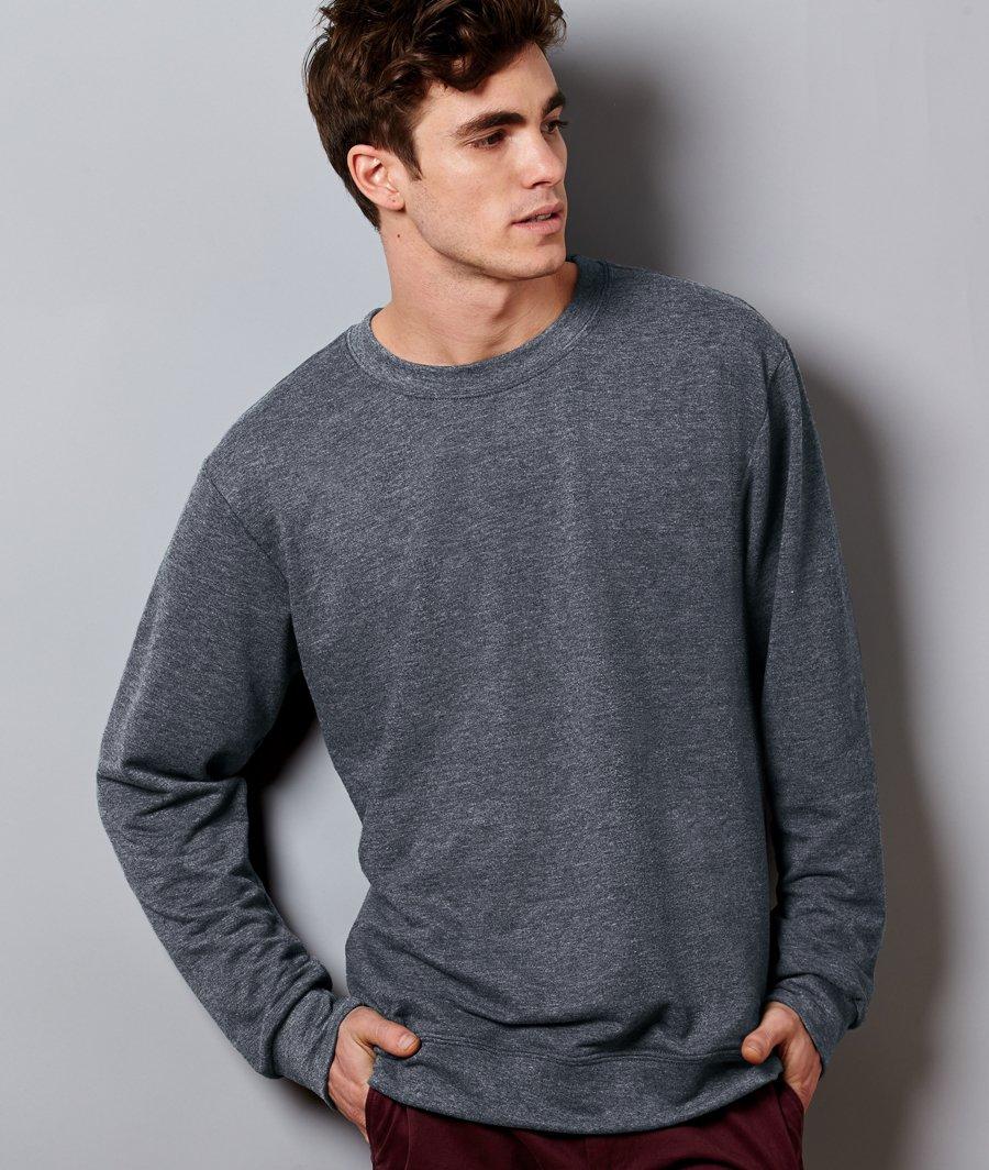 46cb3ad17 Anvil Ringspun French Terry Crewneck Sweatshirt 72000 - Evan Webster INK