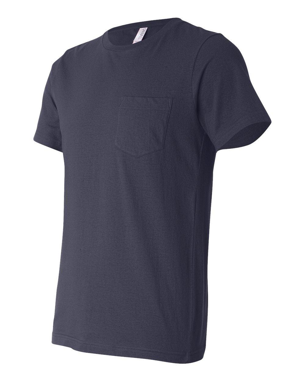 Bella And Canvas Jersey Pocket T Shirt Evan Webster Ink