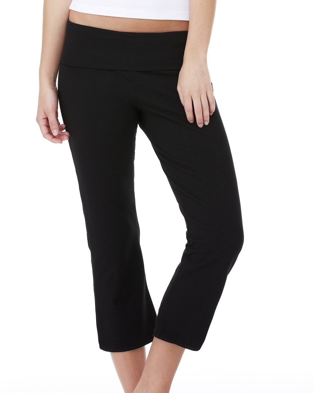 Bella and Canvas Ladies' Capri Pants - Evan Webster INK