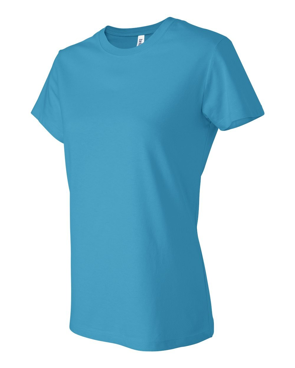Bella and canvas ladies 39 short sleeve jersey t shirt for Bella shirts screen printing