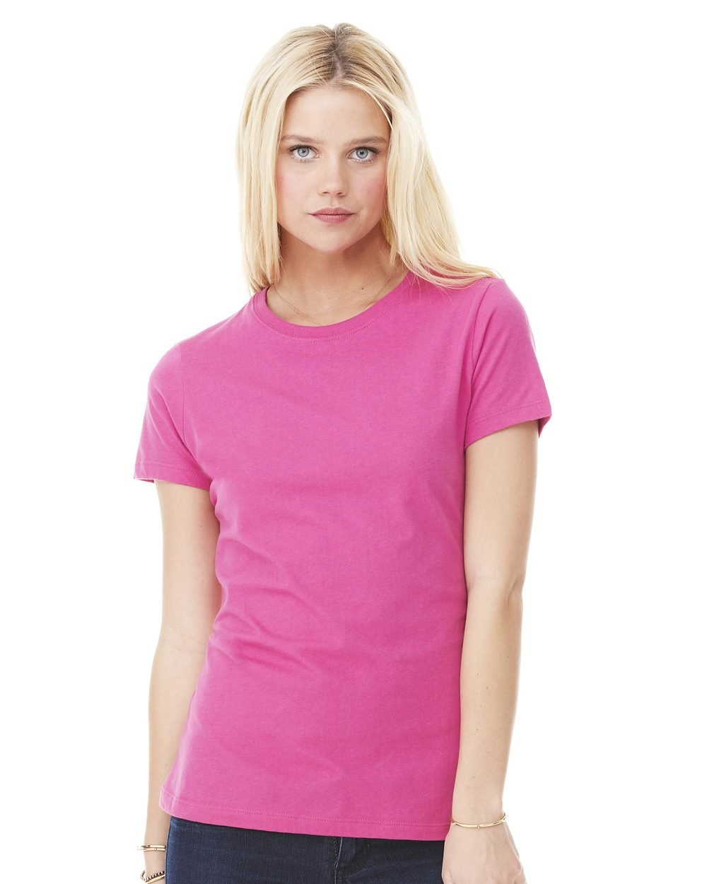 Bella and Canvas Ladies' Short Sleeve Jersey T-Shirt - Evan ...