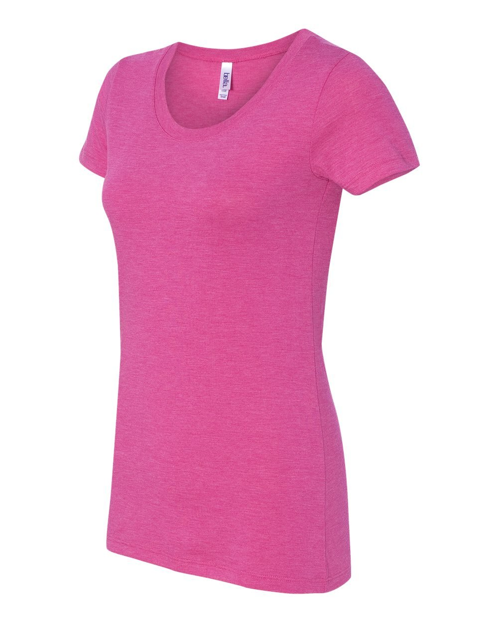 Bella and canvas ladies 39 triblend short sleeve t shirt for Bella shirts screen printing