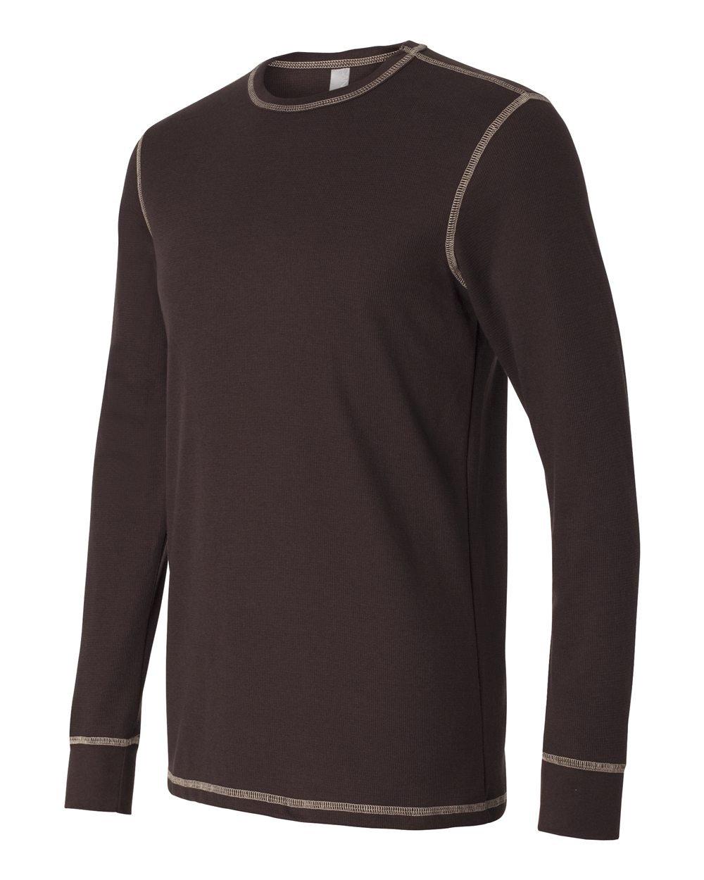 Bella And Canvas Long Sleeve Thermal T Shirt Evan