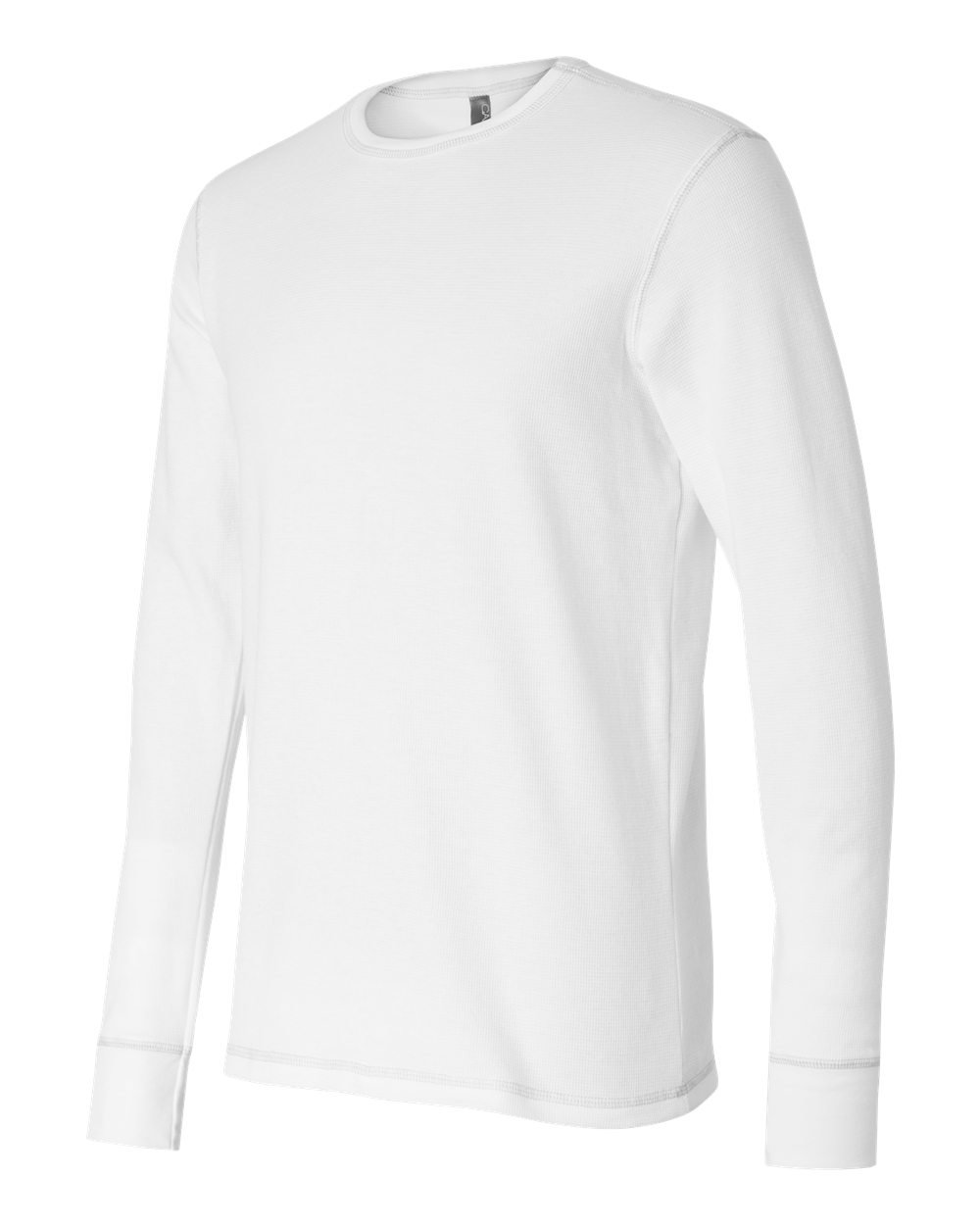Bella and canvas long sleeve thermal t shirt evan for White thermal t shirt