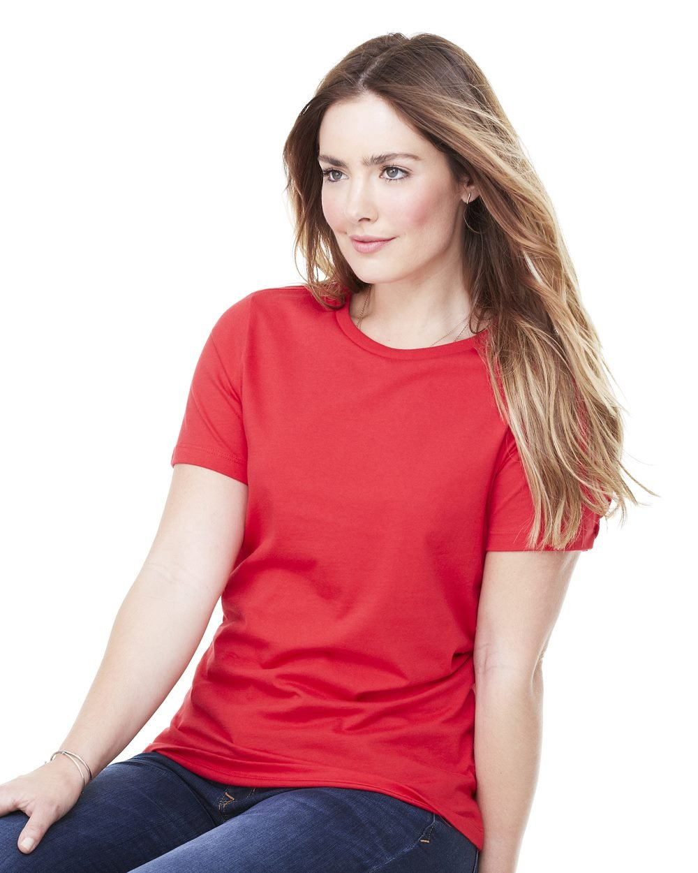 Bella And Canvas Missy Short Sleeve Jersey T Shirt Evan