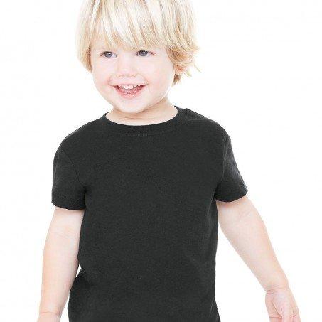 2c2a0569 Bella and Canvas Toddler Short Sleeve Jersey T-Shirt - Evan Webster INK