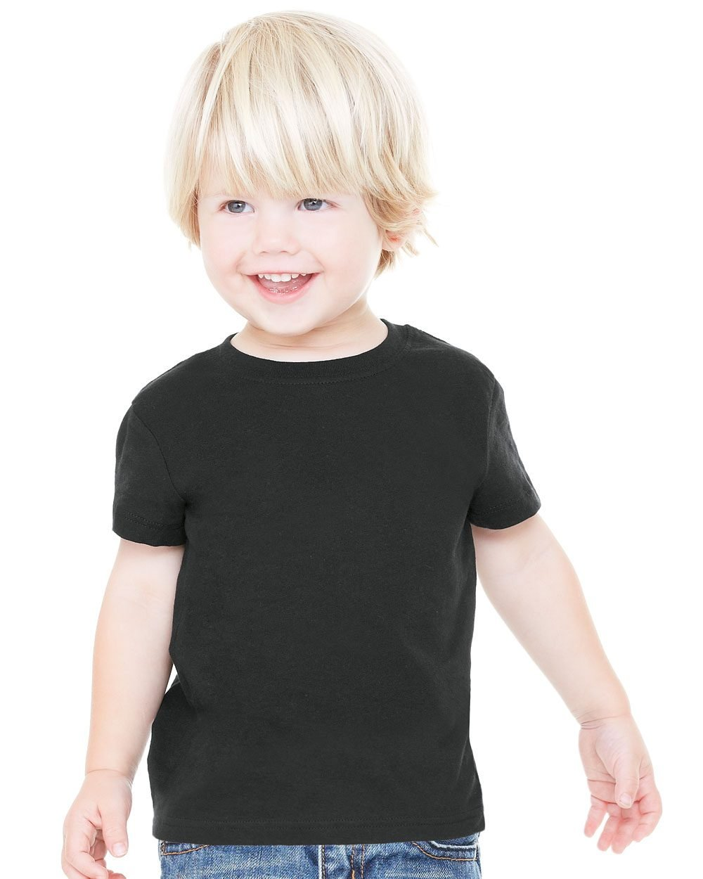 Bella and canvas toddler short sleeve jersey t shirt for American apparel plain t shirts bulk