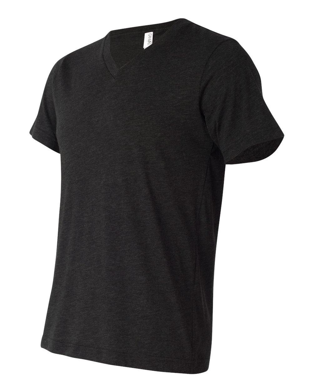 Bella And Canvas Triblend V Neck T Shirt Evan Webster Ink