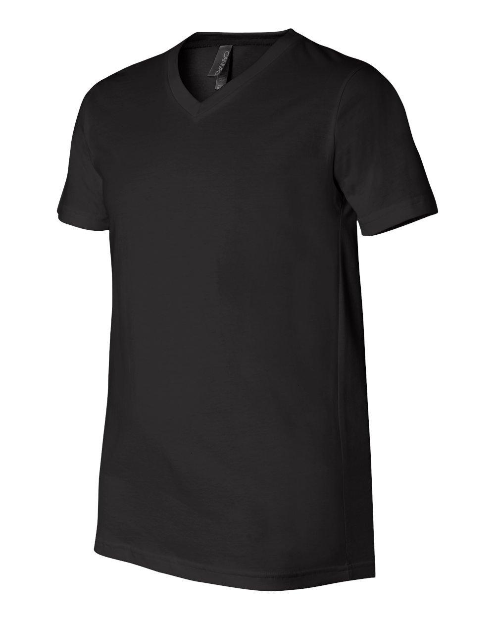 Bella And Canvas Unisex Short Sleeve V Neck Jersey T Shirt