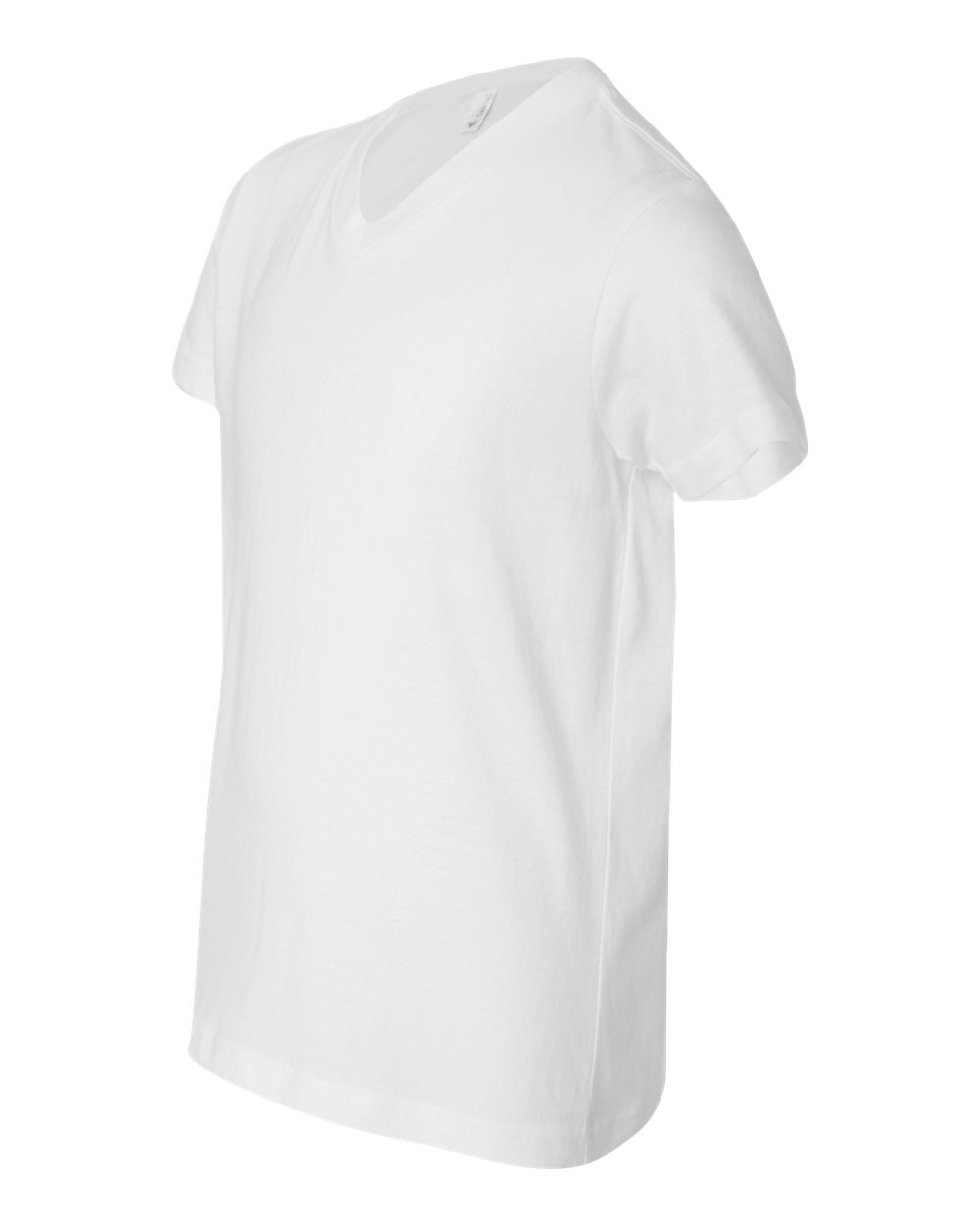 Bella And Canvas Youth Short Sleeve V Neck Jersey T Shirt