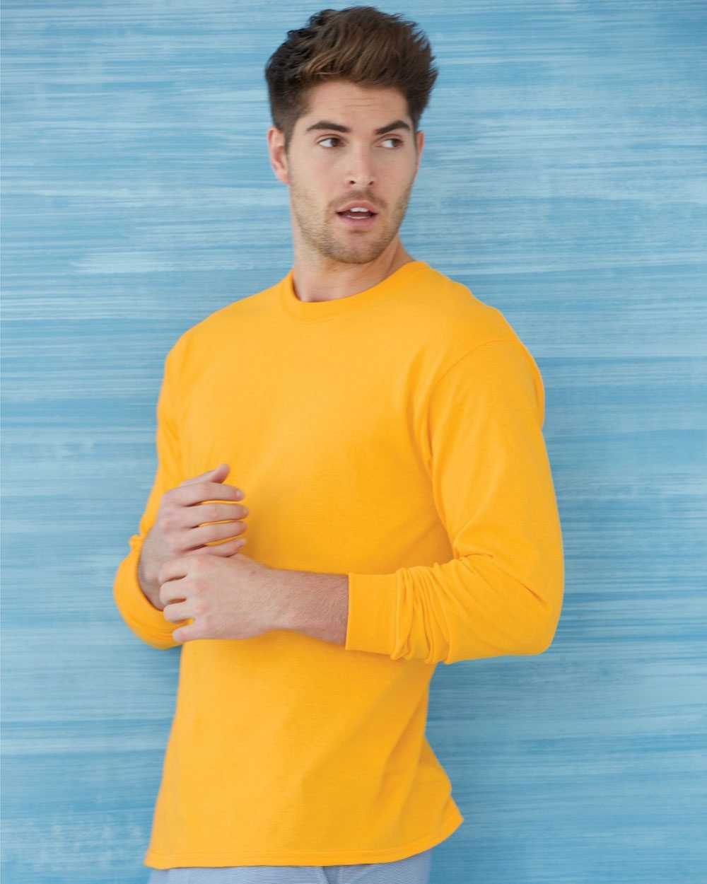 7eff3e27 Gildan Heavy Cotton™ 5.3 oz. Long-Sleeve T-Shirt G540 - Evan Webster INK