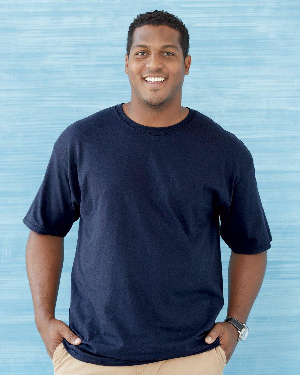 2f696b24d41 Gildan Ultra Cotton® Tall 6 oz. Short-Sleeve T-Shirt G200T - Evan ...