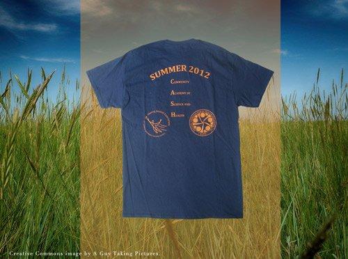 HAPHI summer camp screen printed tee