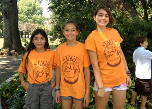 Stage Soup Camp custom screen printed t-shirts