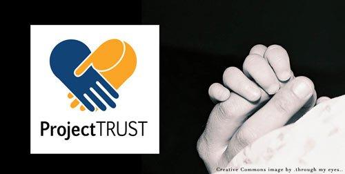 Boston Medical Center Project TRUST logo design