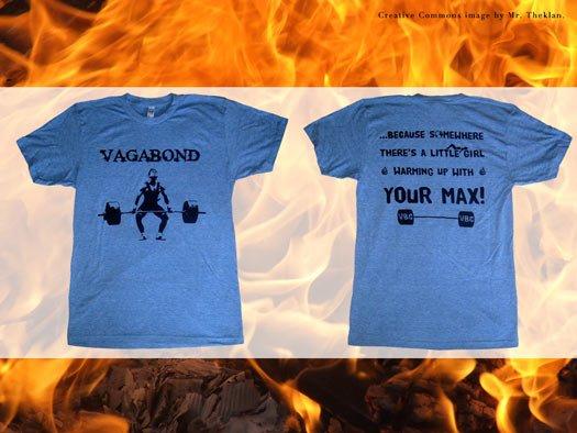 crossfit tshirt