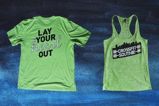 crossfit custom tank top tshirt