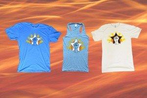 crossfit lando power screenprint t-shirt